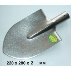 Штыковая титановая лопата 220х280мм (стандартный размер)