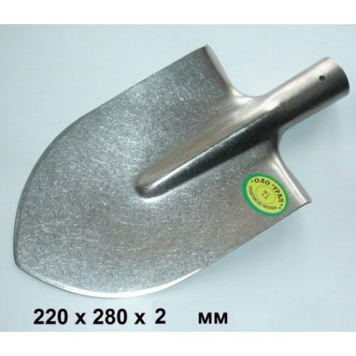 Штыковая титановая лопата 22х28х2мм (стандартный размер)