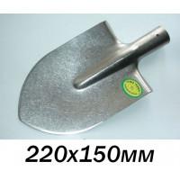 Штыковая лопата из титана (титановая лопата 220х150мм), малых размеров