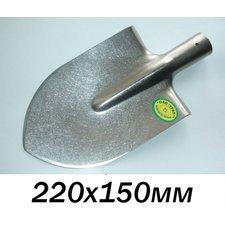 Штыковая лопата из титана (титановая лопата 220х150мм), средняя