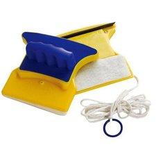 Магнитная щетка для мытья окон с двух сторон, до 6мм