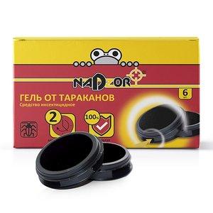 Гель от тараканов в дисках-ловушках Nadzor, 6 шт.