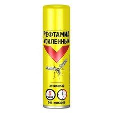 Аэрозоль от комаров усиленный Рефтамид Антикомар, 150 мл
