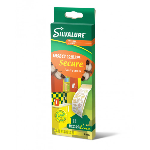 Клеевая ловушка Silvalure Secure от пищевой моли, 2 шт.