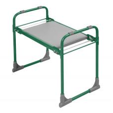 Садовая складная скамейка перевертыш с мягким сиденьем Nika (Ника)