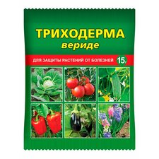 Триходерма вериде — биопрепарат для защиты растений от болезней, 15 г