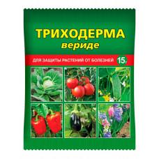 Триходерма вериде - биопрепарат для защиты растений от болезней, 15 г