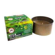 Свеча от комаров, с натуральным маслом цитронеллы 15 часов горения, ARGUS GARDEN