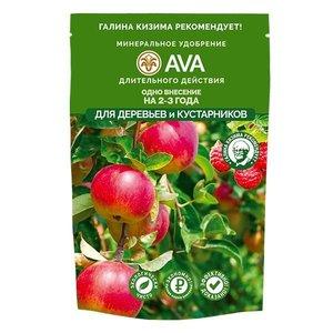 Удобрение AVA для деревьев и кустарников 400 гр. (дой-пак)