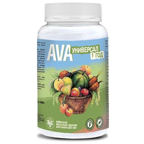 Удобрение AVA (АВА) универсал 1 год (порошок) 800 Г.