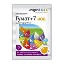 Средство для подкормки растений Гумат +7 йод