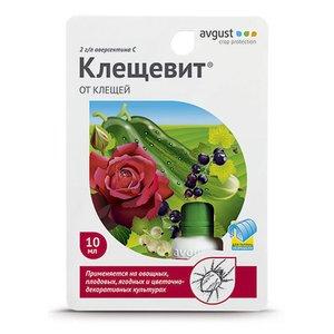 Препарат для борьбы с клещами Клещевит, 10 мл