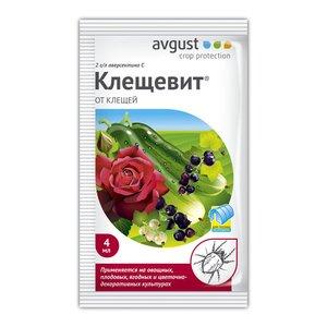 Препарат для борьбы с клещами Клещевит, 4 мл