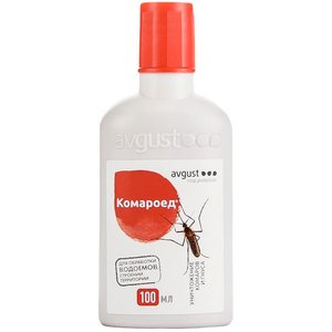 Флакон от комаров и их личинок, Комароед, 100 мл