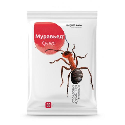 Средство от муравьев Муравьед Супер, 50 г