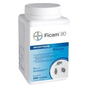 Фикам СП 80% средство от тараканов, блох, муравьев, клопов, клещей, 500г