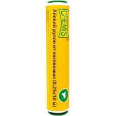 Липкий рулон от насекомых, Chemis (0.25x10м)