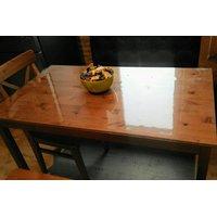 Скатерть ПВХ размер 140х80см (гибкое стекло)