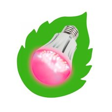 Светодиодная фитолампа Uniel для растений LED-A60-9W SP E27 CL