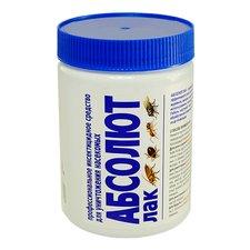 Абсолют лак готовый раствор против клопов, тараканов, блох, муравьев, мокриц, двухвосток, 600 мл