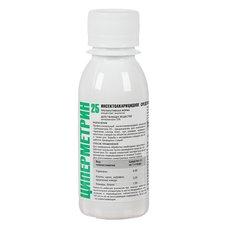 Циперметрин 25 средство от насекомых (клопов, тараканов, клещей, ос, мух, комаров), 100мл