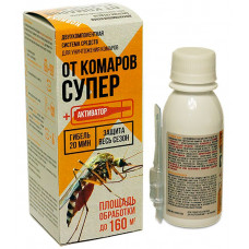 От Комаров супер, Жидкий концентрат 80 мл.