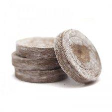Торфяные таблетки (горшочки) для рассады Jiffy-7 (Джиффи), 24 мм
