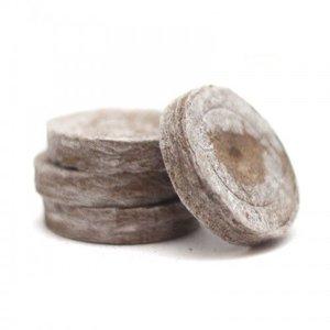 Торфяные таблетки (горшочки) для рассады Jiffy-7 (Джиффи), 24 мм, 50 штук