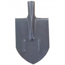 Штыковая лопата из рельсовой стали с прошоковым покрытием 290х190