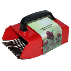 Финский совок (плодосборник, комбайн) для сбора ягод, Kaisa (13.8см ширина, резиновая ручка)