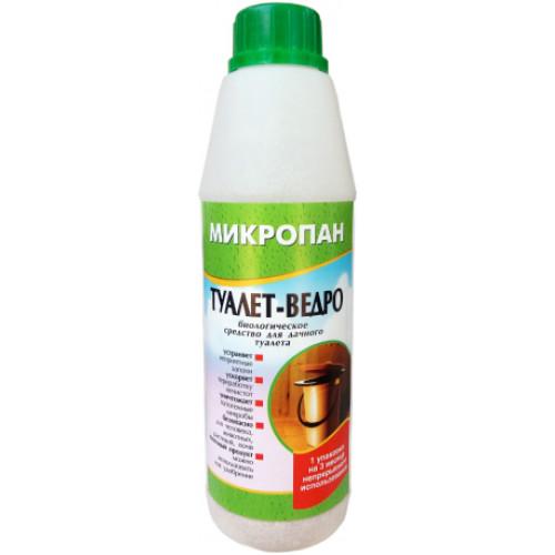 МИКРОПАН ТУАЛЕТ-ВЕДРО, Биологическое средство для дачного туалета, 160г