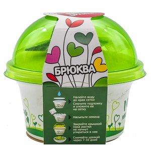 Комплект для выращивания «Моя микрозелень» Брюква