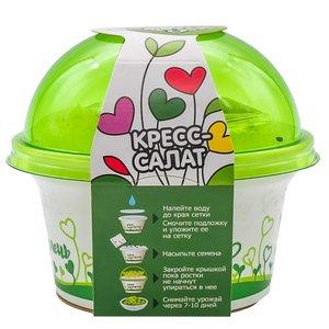 Комплект для выращивания «Моя микрозелень» Кресс-Салат