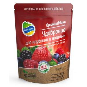 Удобрение OrganikMix для клубники и ягодных, 800г