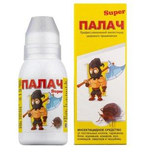 Инсектицидное средство от клопов, тараканов Палач Super, 100 мл