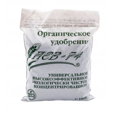 Органическое удобрение ПСВ-74 для овощей, цветов, плодово-ягодных деревьев, газона, 100г