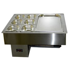 Салат-бар охлаждаемый 0.7х0.57м (2 больших гастроемкости)