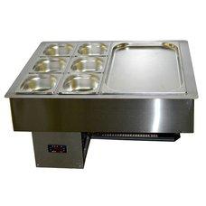 Салат-бар СБ-2.5 охлаждающий 0.87x0.59м