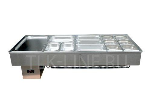 Салат-бар СБ-4 охлаждающий 1.35х0.59м