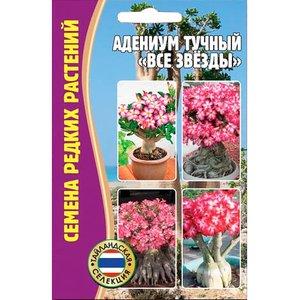 """Семена цветов Адениум тучный """"Все звезды"""", 3 сем."""