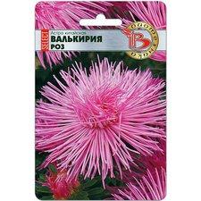 Семена цветов Астра китайская Валькирия селект Роз, 30 сем.