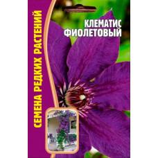 Семена цветов Клематис Фиолетовый, 7 сем.