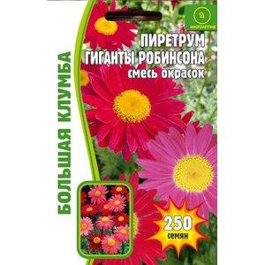 Семена цветов Пиретрум Гиганты Робинсона, 250 сем.