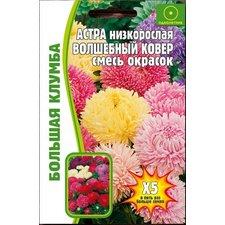 Семена цветов Астра Волшебный ковер, 1г (400-450 сем.)