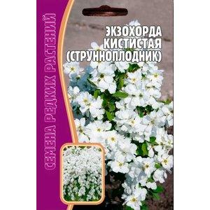 Семена Цветов Экзохорда Кистистая (струнноплодник) 7 сем.