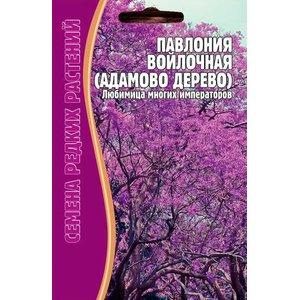 Семена Цветов Павлония Войлочная (Адамово дерево) 10 сем.