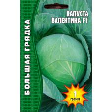 Семена Капуста Белокочанная ВАЛЕНТИНА F1, 1гр