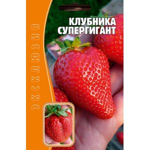 Семена клубники Супергигант, 10 сем.