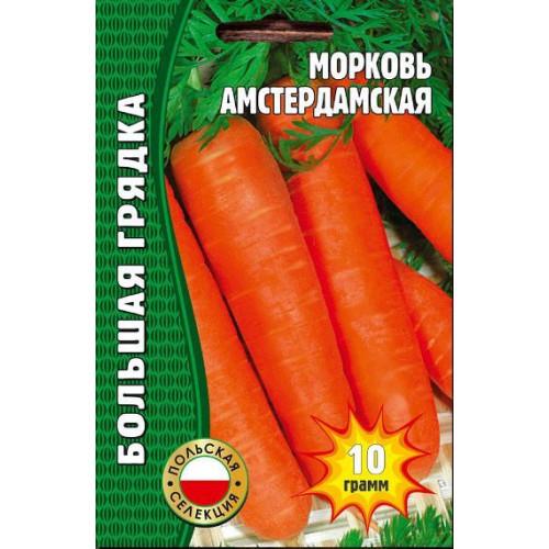 Семена морковь Амстердамская, 10гр