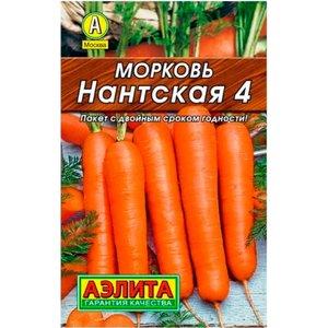 Семена морковь НАНТСКАЯ-4 (Аэлита)